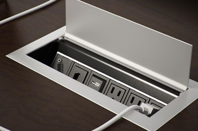 Built-in Desk Outlets